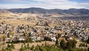 Butte MT business & historic district
